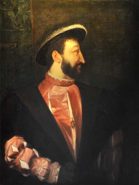 Portrait de François Ier, Tiziano Vecellio, dit Titien (1539)
