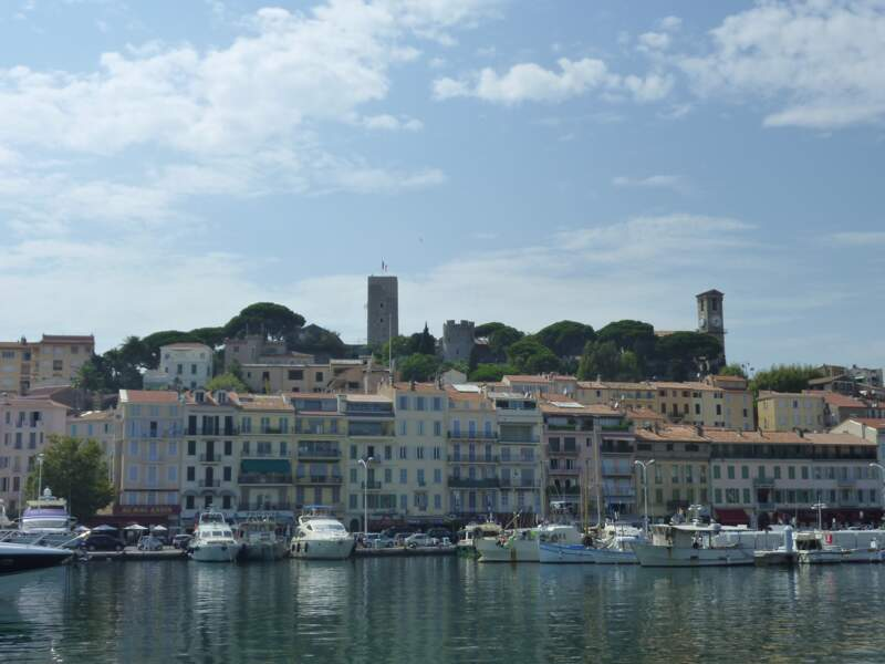 La colline du Suquet : le meilleur point de vue de Cannes