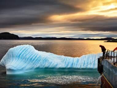 Au Canada, avec les chasseurs d'icebergs