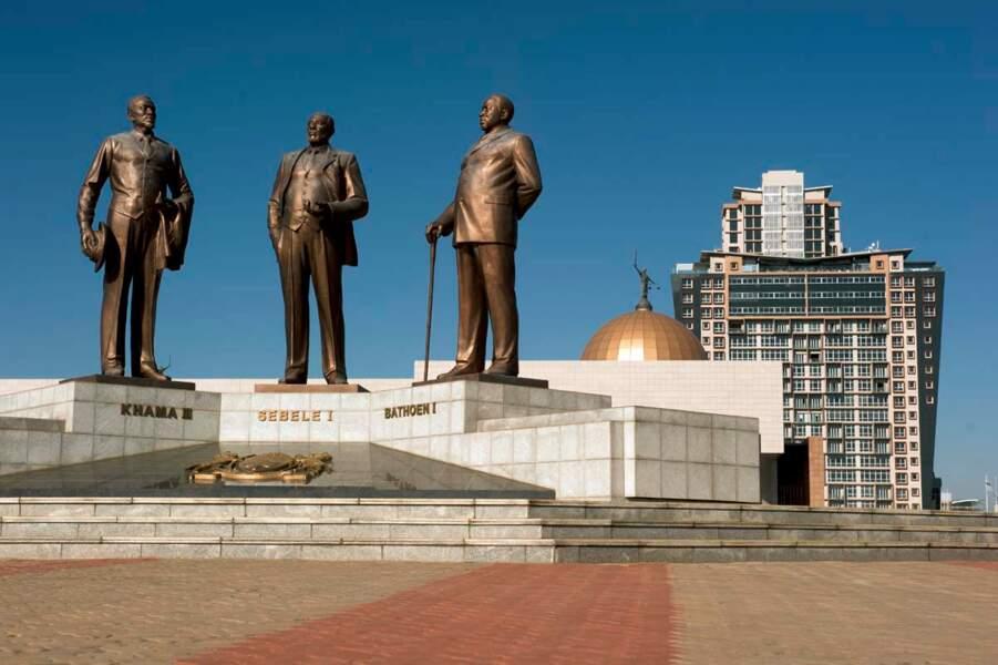 Les pères fondateurs du Botswana indépendant
