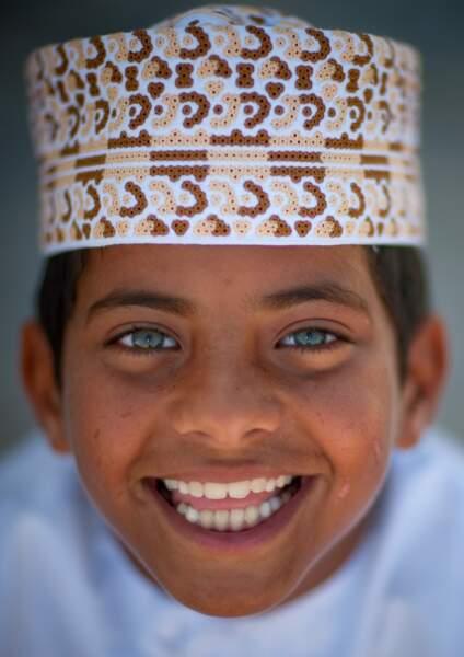 Yeux d'enfant à Oman