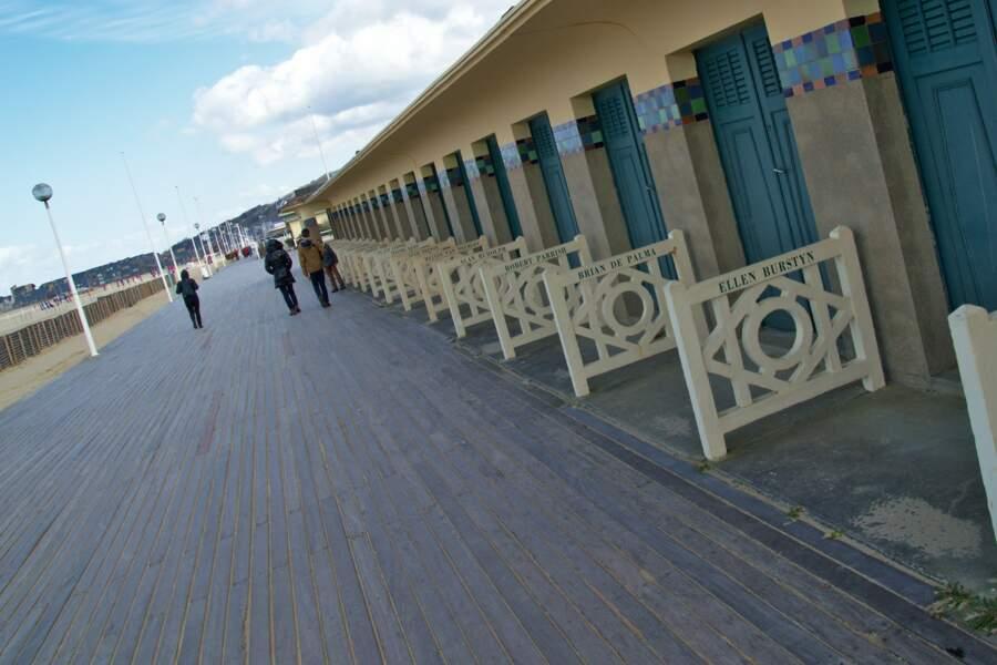 Les Planches de Deauville, une promenade de stars