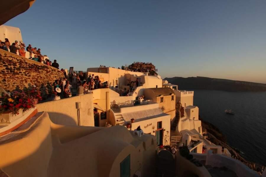 Photo prise à Santorin (Grèce) par le GEOnaute : nat77