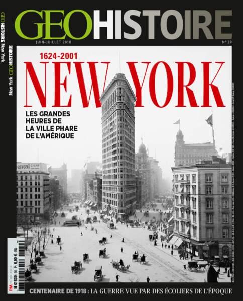 Retrouvez l'intégralité du reportage dans le magazine GEO Histoire n°39 (juin-juillet 2018)