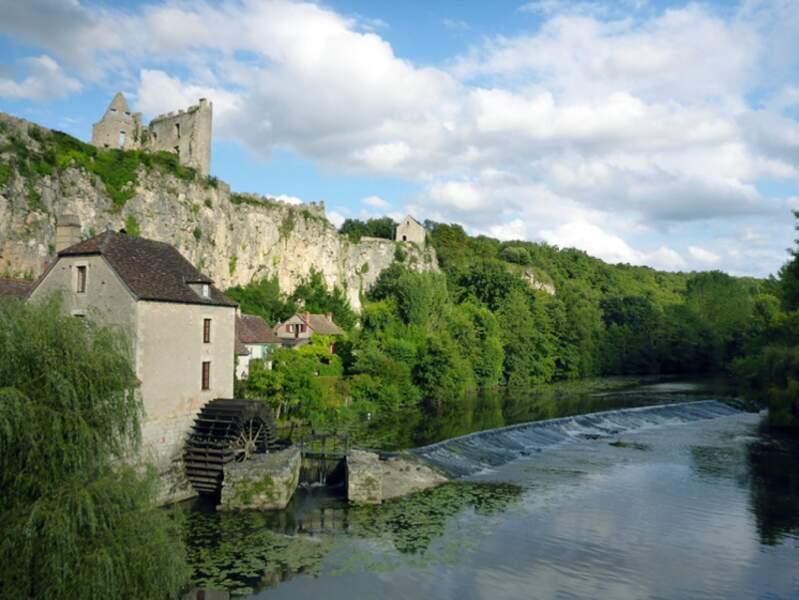Angles-sur-l'Anglin, un des plus beaux villages de France