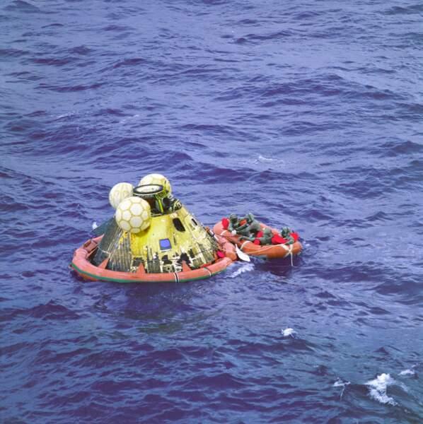 Plongeon dans le Pacifique