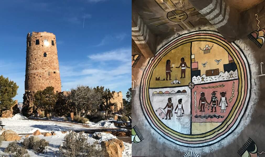 3 - Le Grand Canyon abrite une tour très spéciale