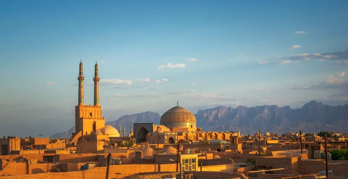 Yazd, dans le centre de l'Iran