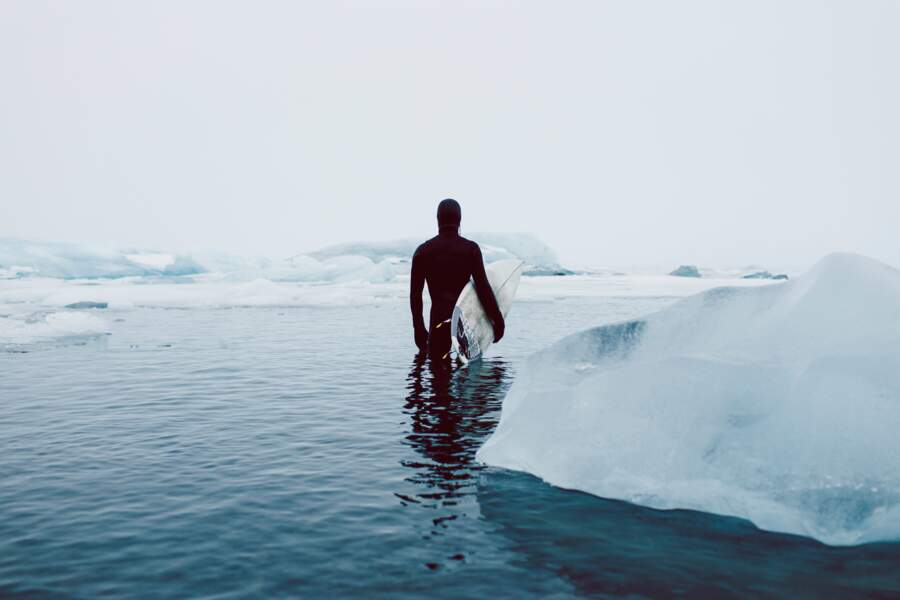 Surf sur glace