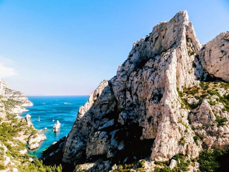 Marseille - La calanque de Sugiton