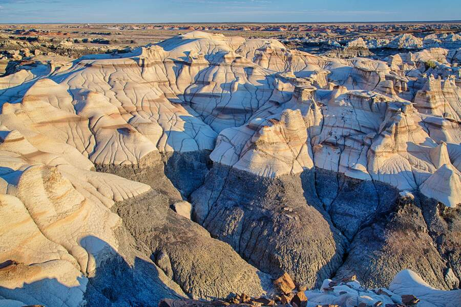 Bisti/De-Na-Zin Wilderness, Nouveau Mexique, USA