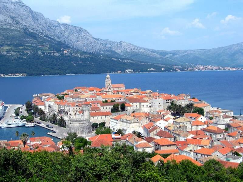 Korčula, la mémoire de l'Adriatique