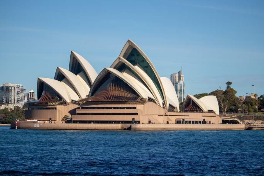 10 - L'opéra de Sydney, Australie