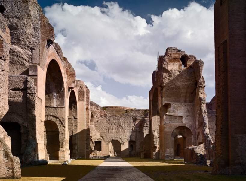 Thermes de Caracalla, à Rome