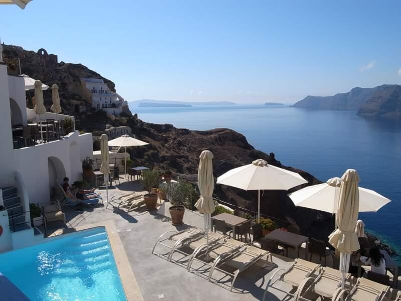 Santorini, en Grèce