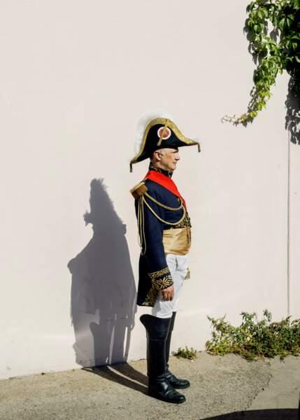 Joseph Fogacci, membre des Grognards de Napoléon