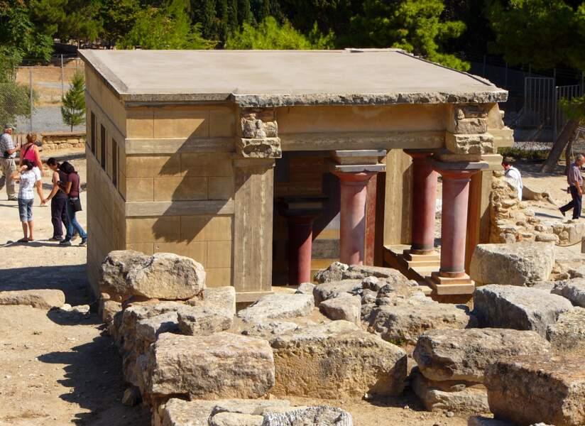 Le palais de Knossos