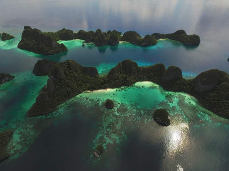 Ile de Wayag, Raja Ampat, Indonésie