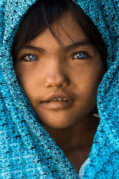 La petite An Phuoc de l'ethnie Cham