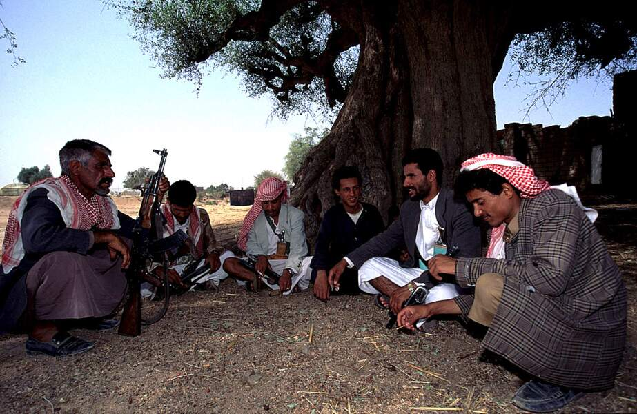 Les fidèles gardes de la tribu Al Thal