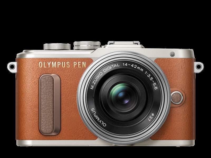 Raffiné, un appareil photo avec écran réversible pour selfies et connexion WiFi grâce à l'appli O.I Share