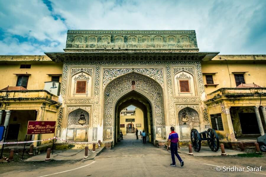 La cité de Jaipur au Rajasthan, en Inde