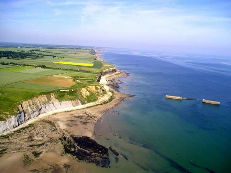 Diaporama n°13 : La Normandie vue du ciel