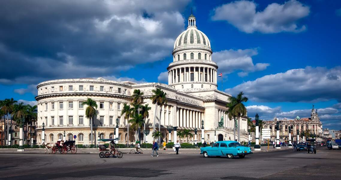 1re destination : La Havane à Cuba