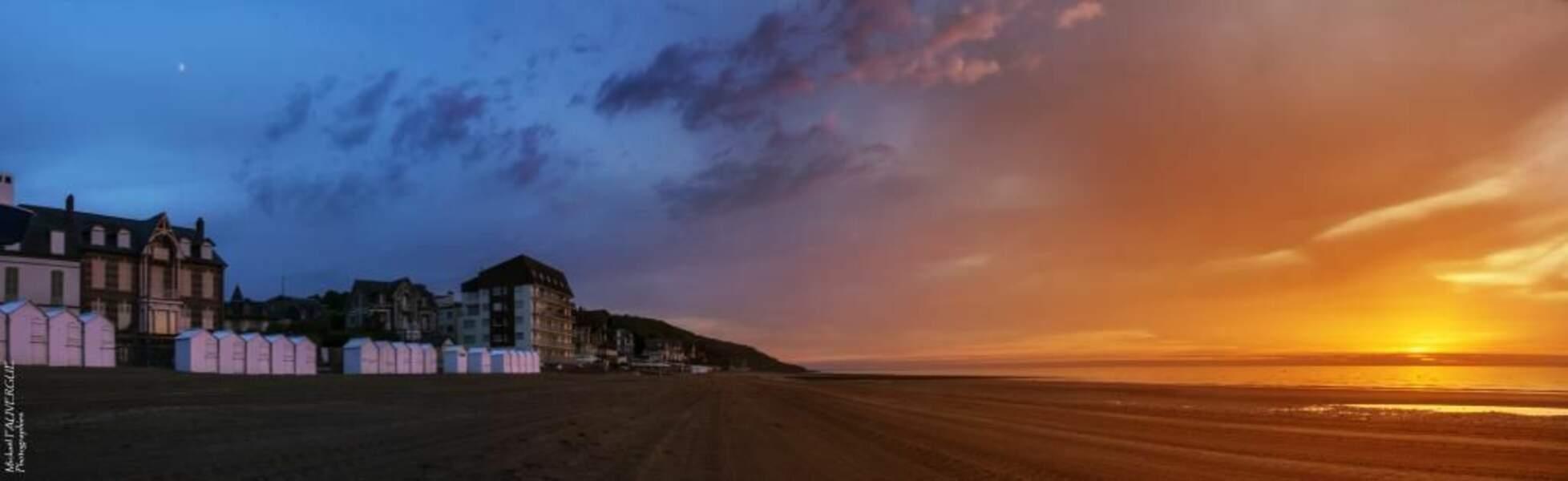 Photo prise à Villers-sur-Mer (Basse-Normandie) par le GEOnaute : mfauvergue