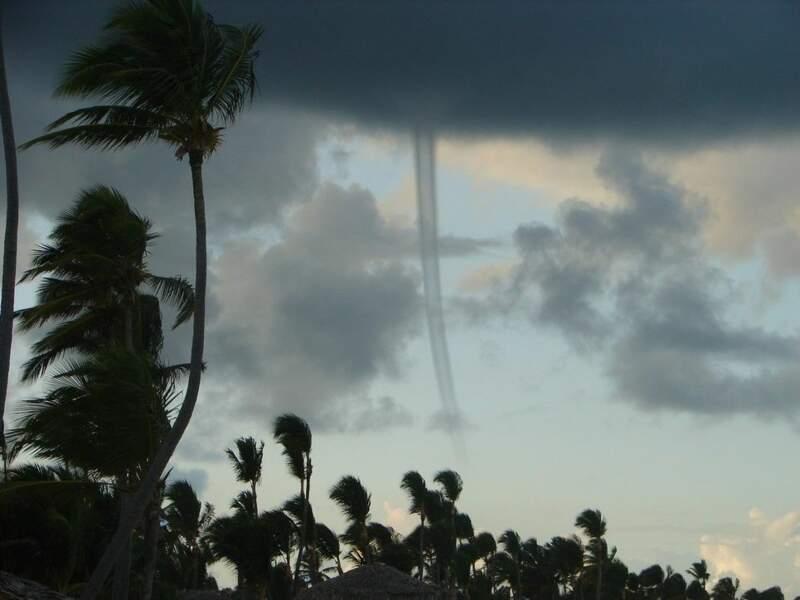 Photo prise à Punta Cana (République dominicaine) par le GEOnaute : lucioles