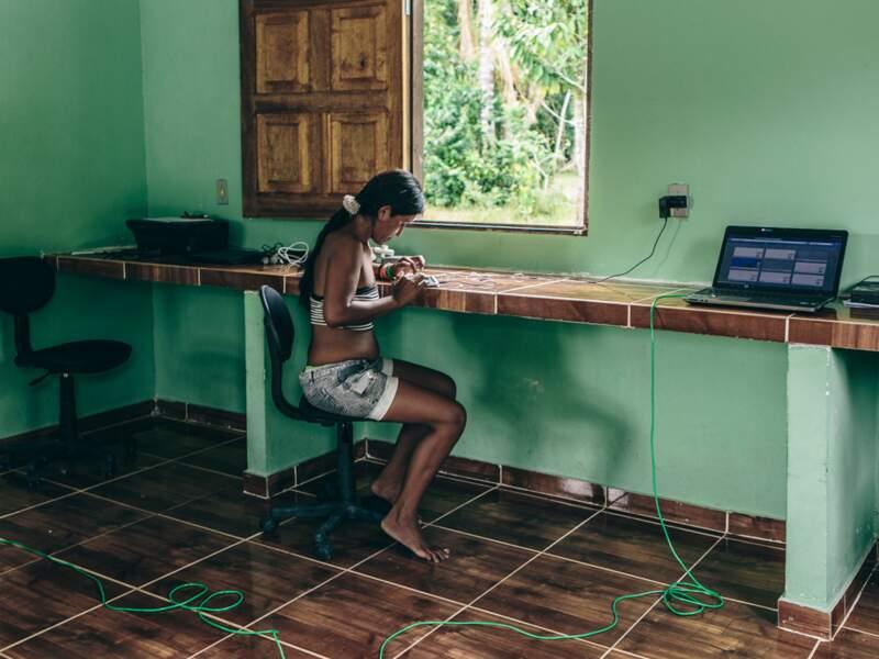 L'accès à Internet dans l'une des régions les plus reculées de l'Amazonie brésilienne