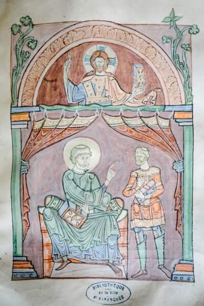 Des chefs-d'œuvre de l'enluminure romane