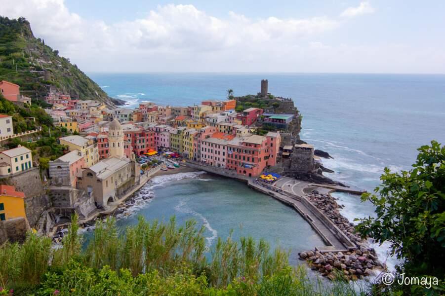 Italie - Vernazza à Cinque Terre