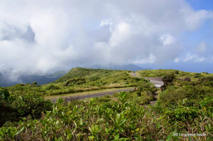 Guadeloupe : l'ascension de la Soufrière
