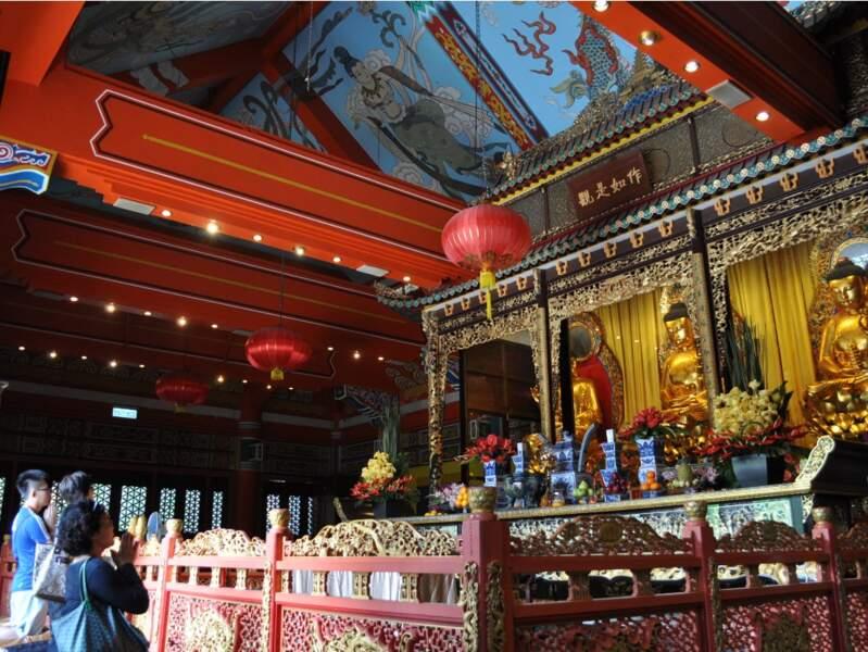Le monastère de Po Lin