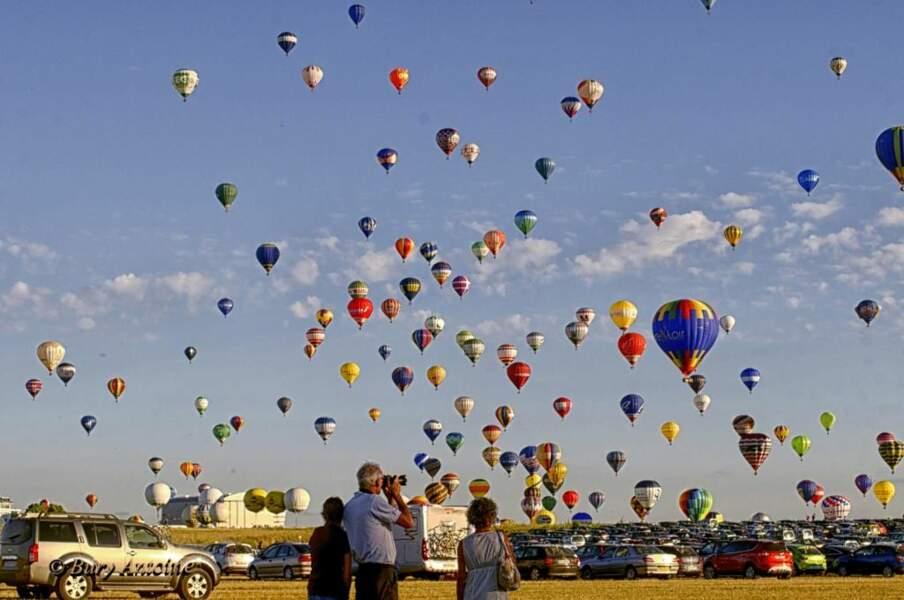 Ambiance au Lorraine Mondial Air Ballons, par le GEOnaute bury.antoine