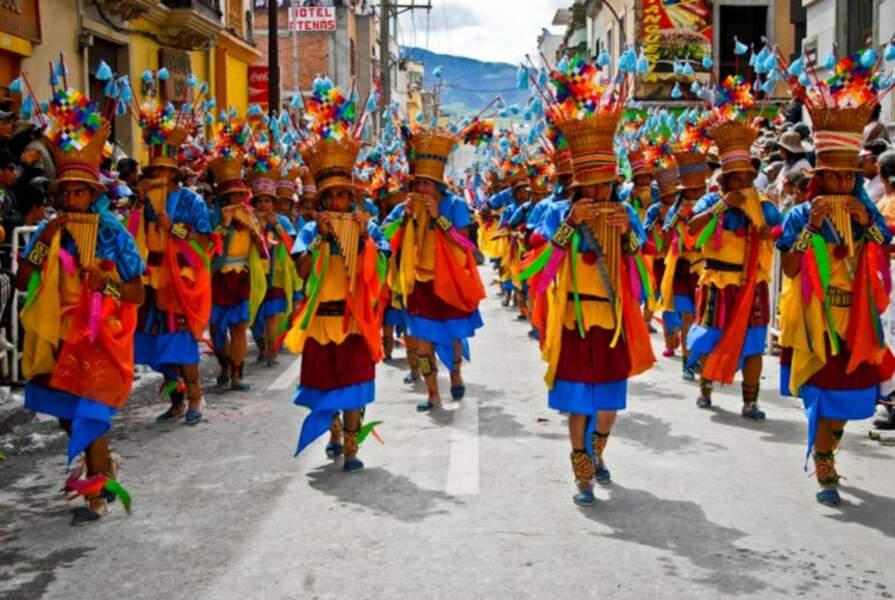 """Festivals - """"Carnaval de Negros y Blancos"""""""
