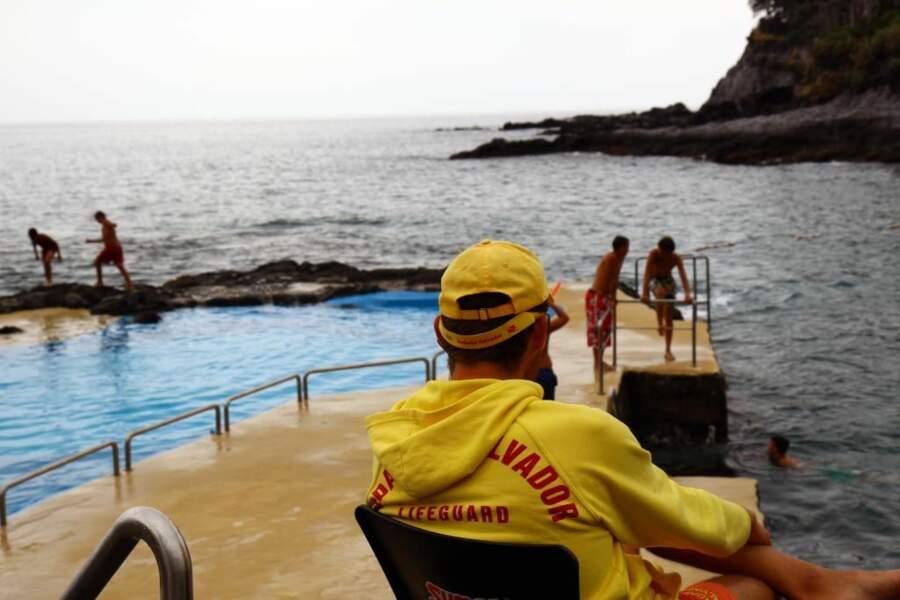Baignade dans les eaux de Sao Miguel, dans les Açores, par le GEOnaute jiceh548