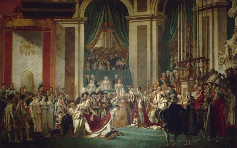 1804 : Sacre de Napoléon