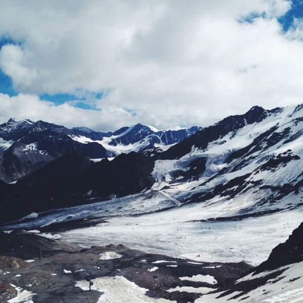 Autriche - Kaunertal : les pieds sur le glacier