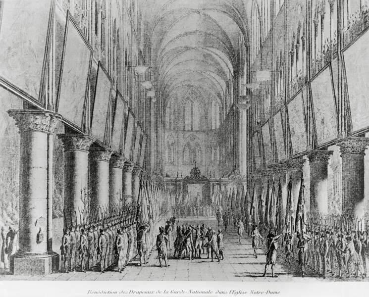 1789 à 1799 : Notre-Dame face à la Révolution