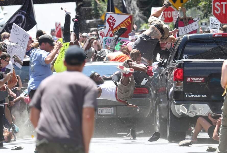 """Etats-Unis : attaque de Charlottesville contre des militants antiracistes - Catégorie """"actualités"""" (images uniques)"""