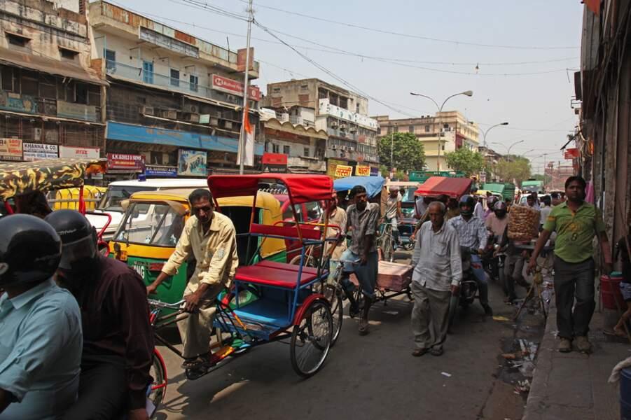 Inde - Dans le chaos de Old Delhi