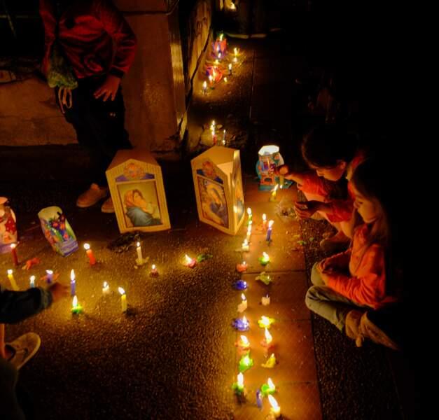 Dia de las Velitas, la journée des bougies (Colombie)