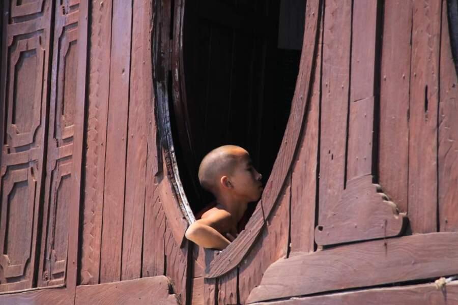 Photo prise en Birmanie par le GEOnaute : ludo