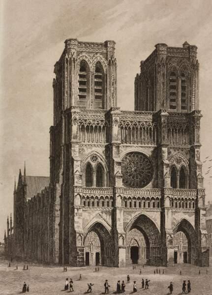 1844 : Début de restauration par Eugène Viollet-Le-Duc