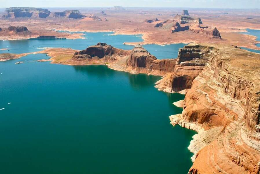 Lake Powell, dans l'Ouest américain, par le GEOnaute charles-louis