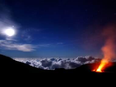 A La Réunion, le piton de la Fournaise en majesté