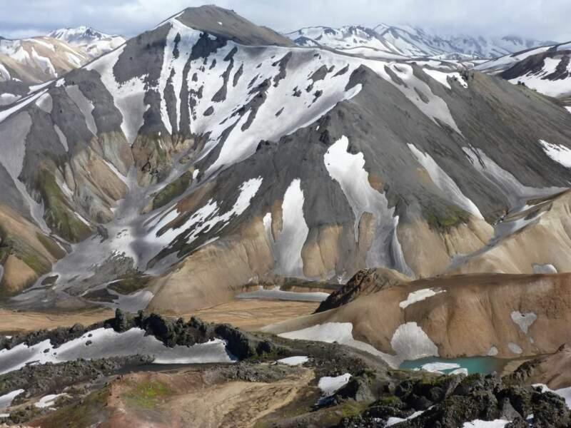 Photo prise dans le Landmannalaugar (Islande) par le GEOnaute : cgentelet