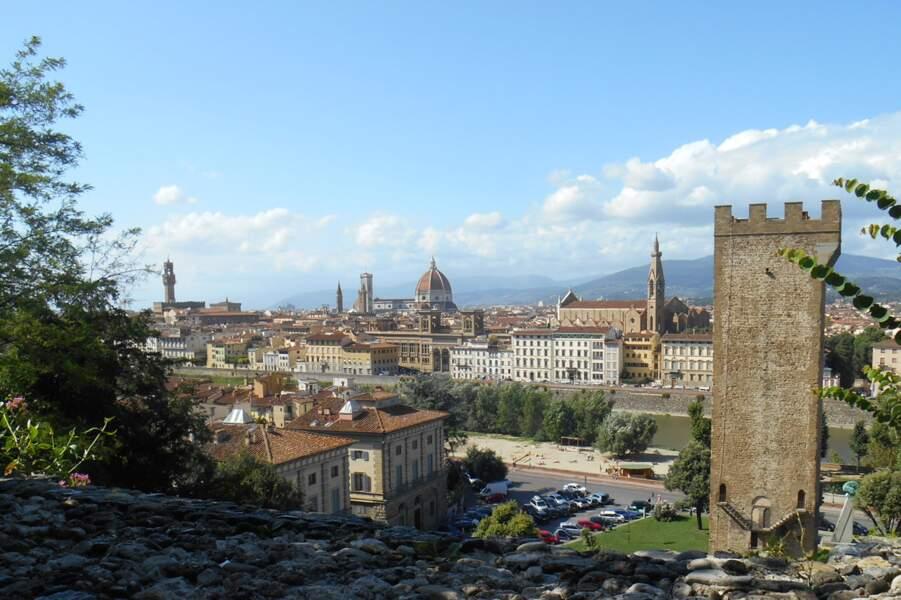 Italie - Les plus belles vues de Florence pour pas un florin